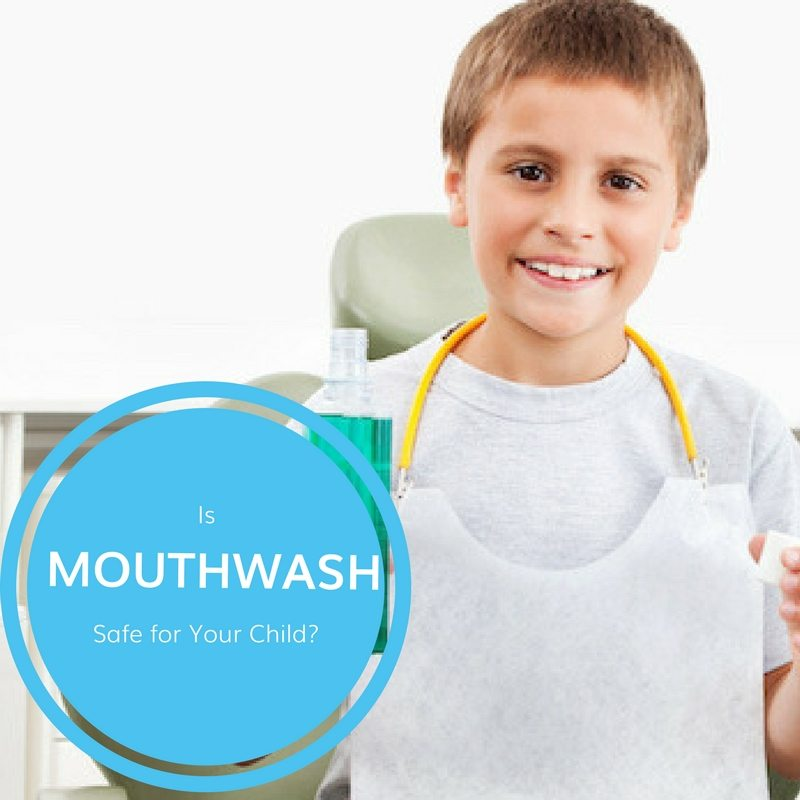 Is Mouthwash Safe for Your Child?
